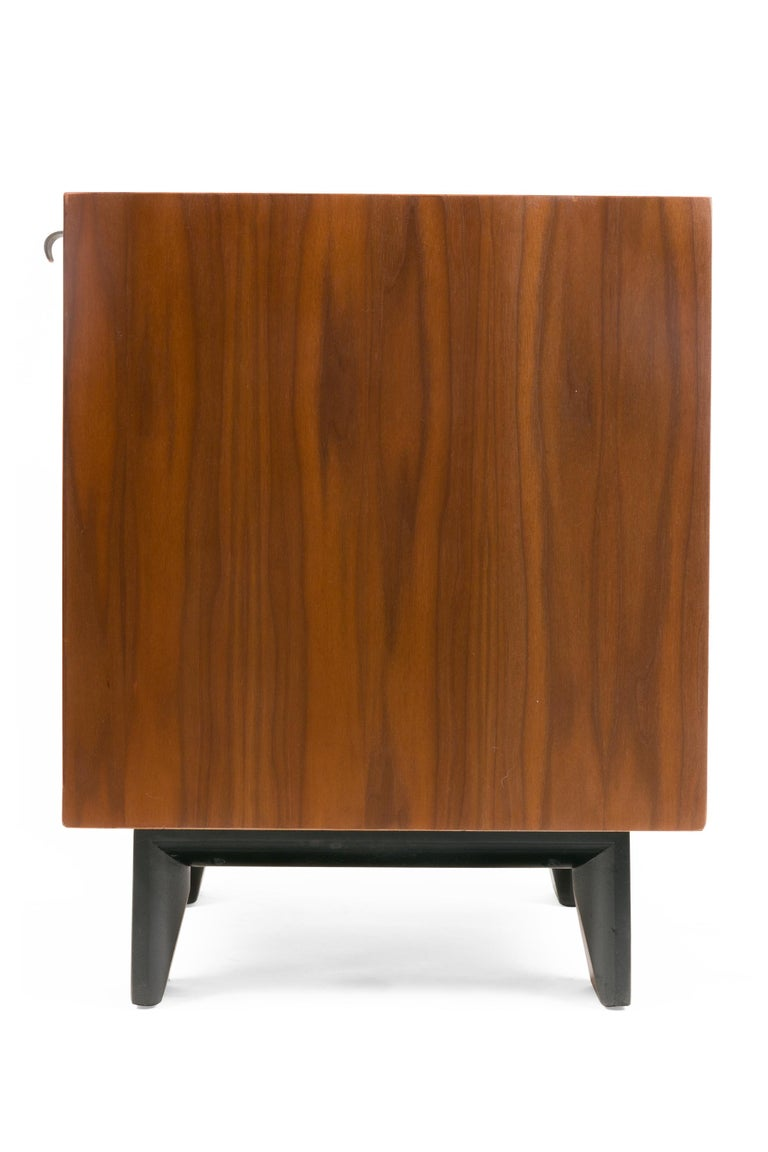 George Nelson Walnut Nightstands for Herman Miller, USA, 1950s In Good Condition For Sale In New York, NY