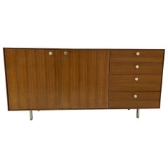 George Nelson Walnut Thin Edge Credenza