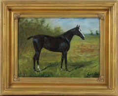 George Paice Lady Cupid Equestrian Horse Painting