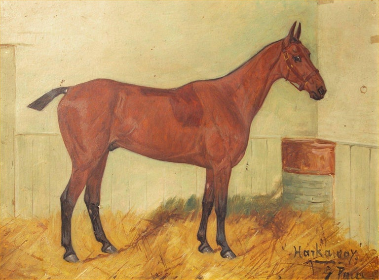 Harkaway - Painting by George Paice