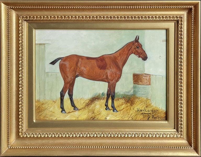 George Paice Animal Painting - Harkaway