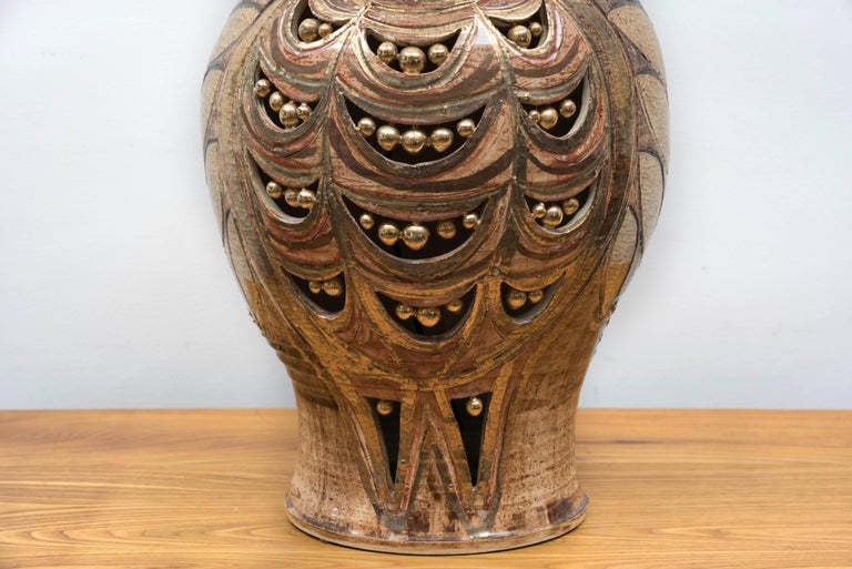 Late 20th Century George Pelletier Table Lamp, France, circa 1970 For Sale
