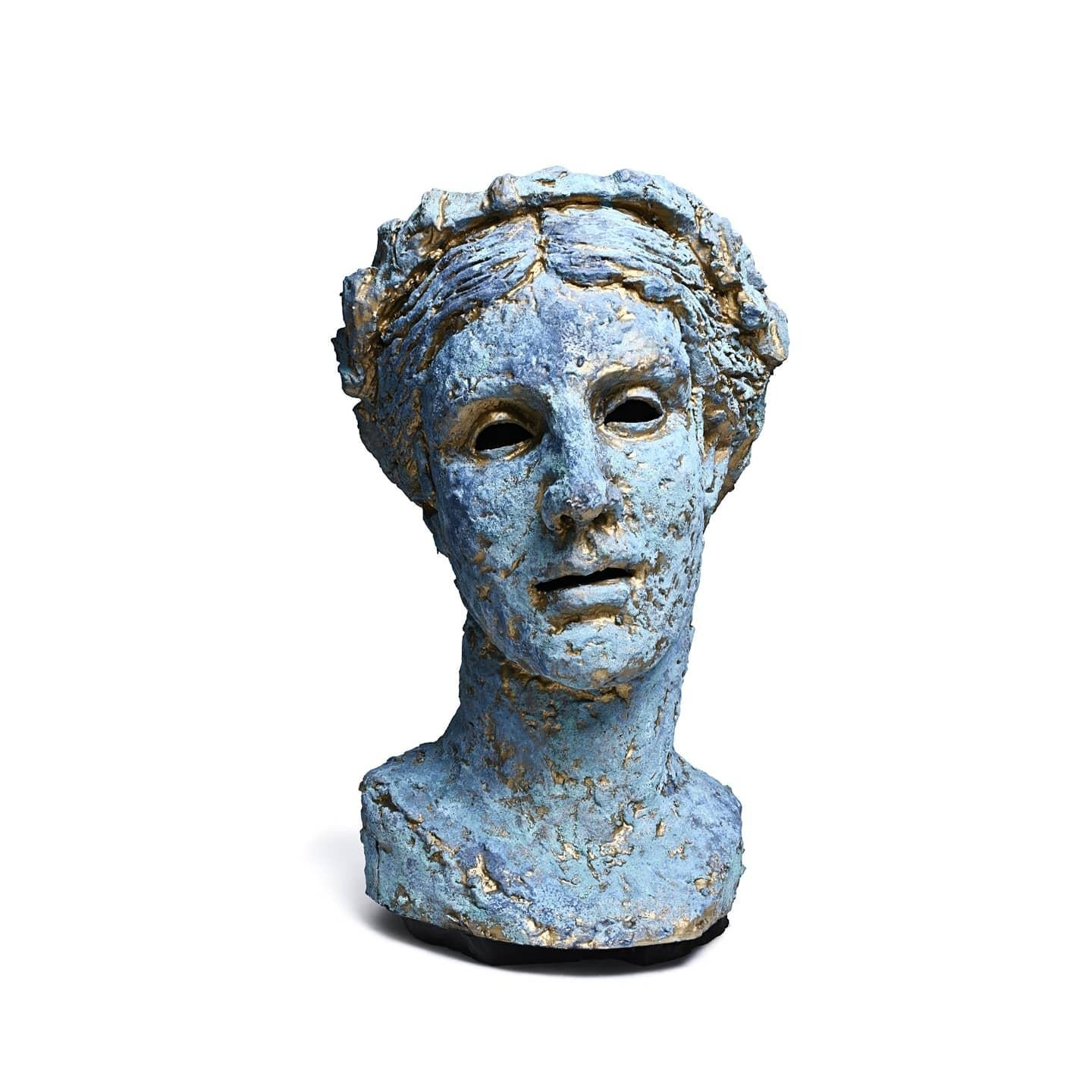 """""""Thalia, Muse of Comedy (Bust)"""" Over Life-size Portrait Sculpture"""