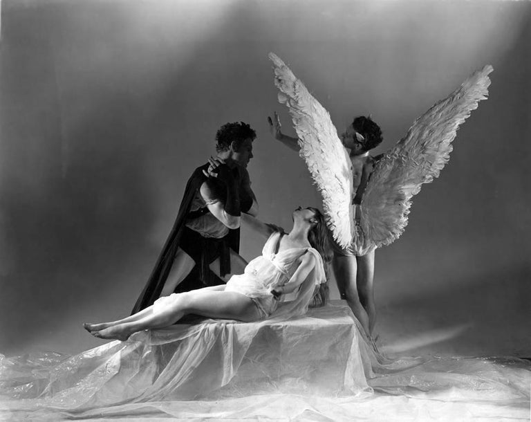 George Platt Lynes Black and White Photograph - Orpheus (Lev Christian and Marie Jeanne)
