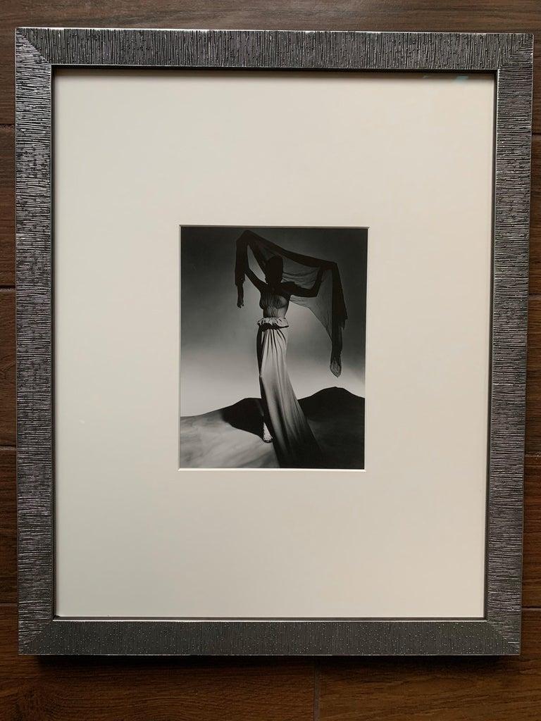 American George Platt Lynes Original B&W Fashion Photograph, Metropolitan Museum Art For Sale