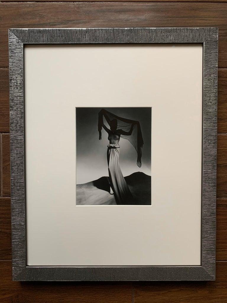 Late 20th Century George Platt Lynes Original B&W Fashion Photograph, Metropolitan Museum Art For Sale