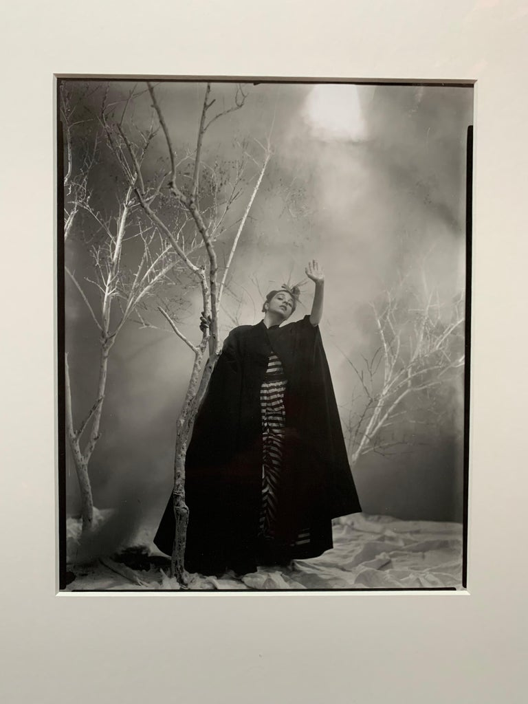 This silver gelatin photograph was printed in 1999 from the original negative by the Robert Miller Gallery in New York City with permission from the estate of the artist. George Platt Lynes (1907-1955) was a legendary fashion photographer who shot