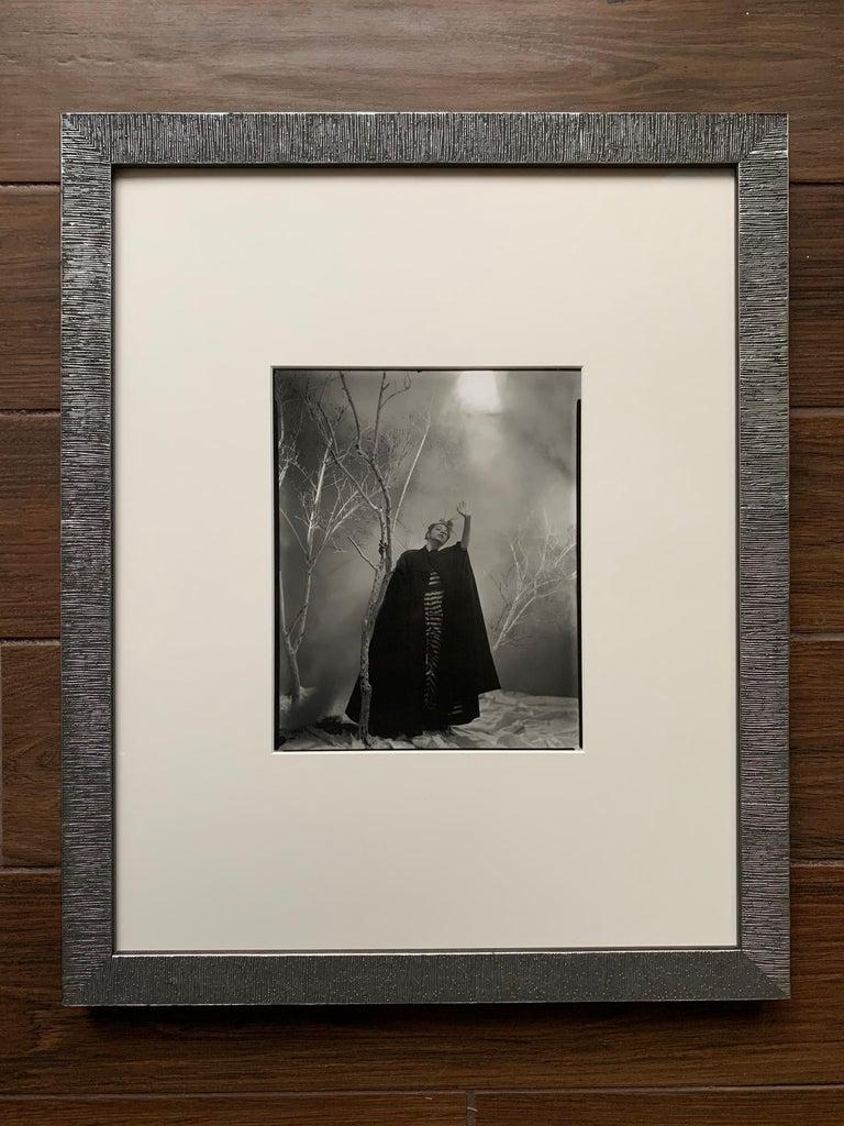 Hand-Crafted George Platt Lynes Original B&W Photograph, Ruth Elizabeth Ford, Framed For Sale