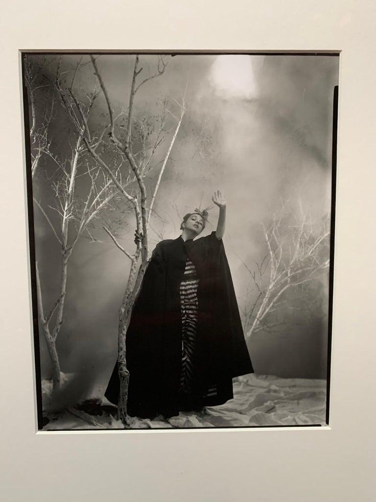 George Platt Lynes Original B&W Photograph, Ruth Elizabeth Ford, Framed In Good Condition For Sale In Palm Springs, CA