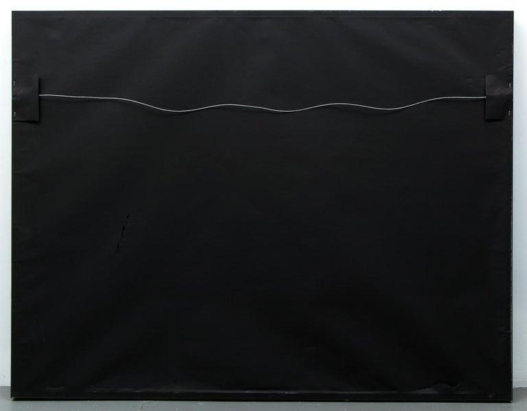 BLUE DOG - HEAD OVER HEELS BLACK - 2002 ARTIST PROOF - Black Print by George Rodrigue