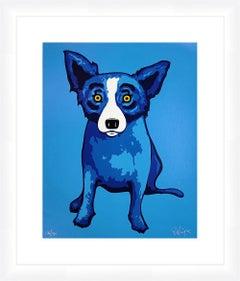 BLUE SKIES SHINING ON ME (BLUE DOG)