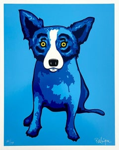 Blue Skies Shinning on Me (Blue Dog Series)