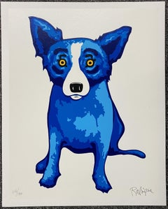George Rodrigue - Purity of Soul Silkscreen Signed and numbered A/P