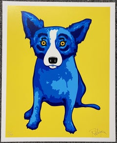 George Rodrigue - Sunshine on My Shoulder Silkscreen Signed and numbered A/P