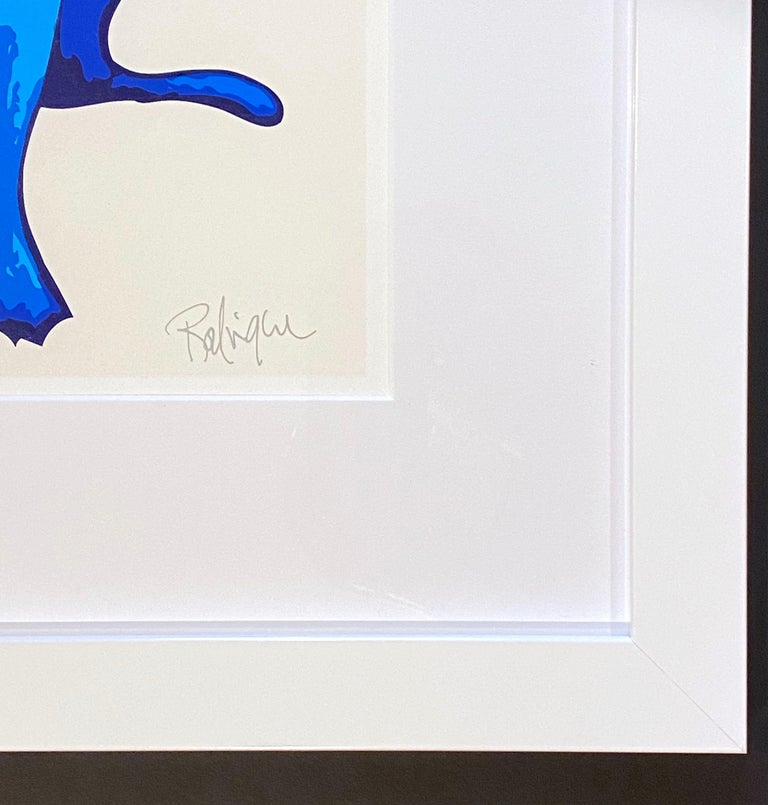 George Rodrigue Purity of Soul Artist: George Rodrigue Medium: Screen print on paper Title: Purity of Soul Year: 2005 Edition: 126/190 Framed Size: 19