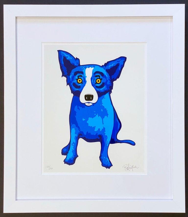 George Rodrigue Animal Print - Purity of Soul
