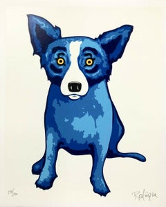 Purity of Soul, Limited Edition Silkscreen, George Rodrigue SIGNED