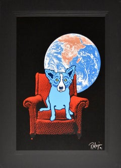 Space Chair - Signed Silkscreen Print