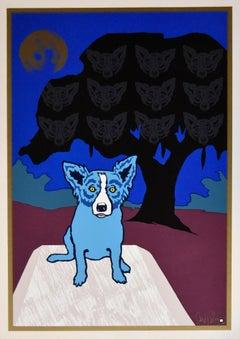 Spirit In the Trees - Signed Silkscreen Print
