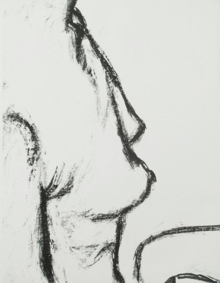 George Segal Nude Print - Female Torso