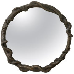 George Sellers, 'Ophidian Mirror,' Bronze Mirror, Limited Edition of 8