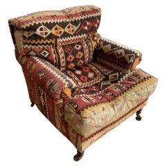 George Smith Kilim Armchair