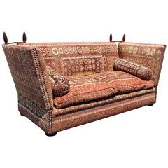 George Smith Kilim Upholstered Knole Sofa