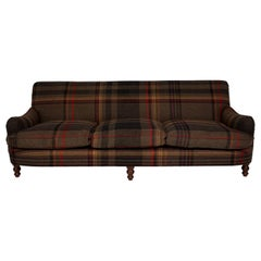 George Smith Sofa Upholstered in Paul Smith Fabric