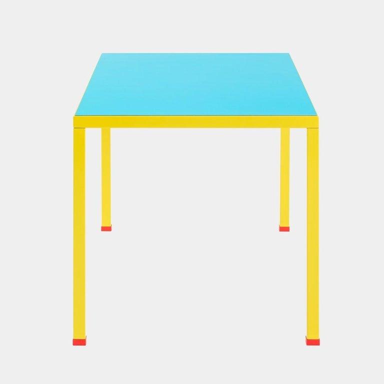 Italian George Sowden 'Violetta' Memphis Milano Table, 2018 For Sale