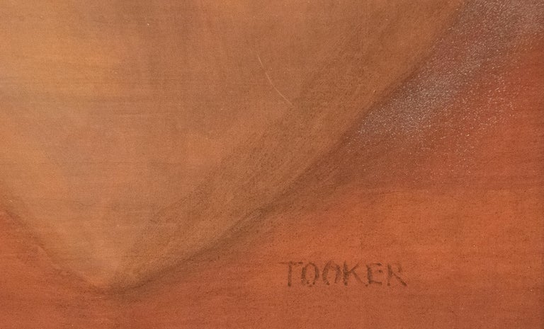 Moon Rise - Post-War Painting by George Tooker