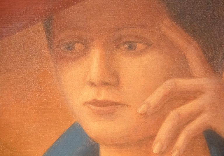 A painting by George Tooker.