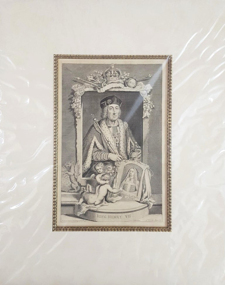 King Henry VII - Print by George Virtue