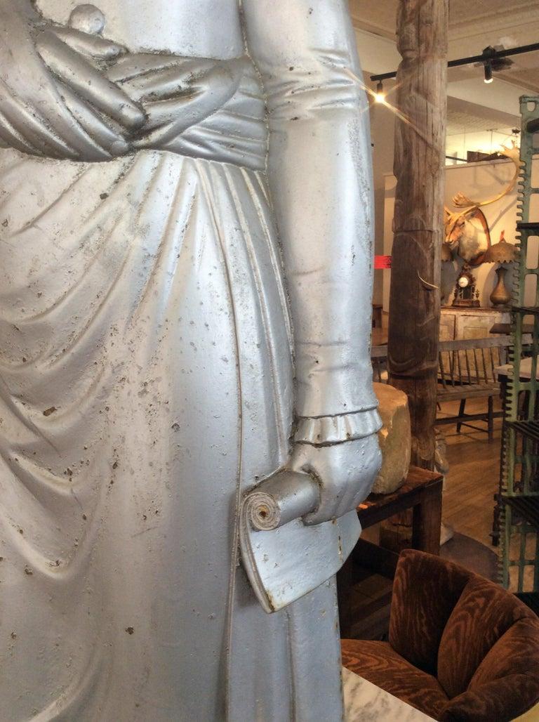 George Washington 1870s Cast Iron Stove Figure For Sale 2