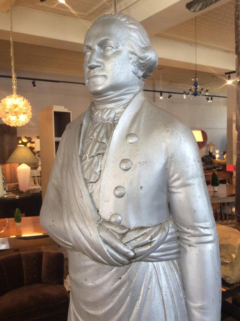 George Washington 1870s Cast Iron Stove Figure For Sale 4