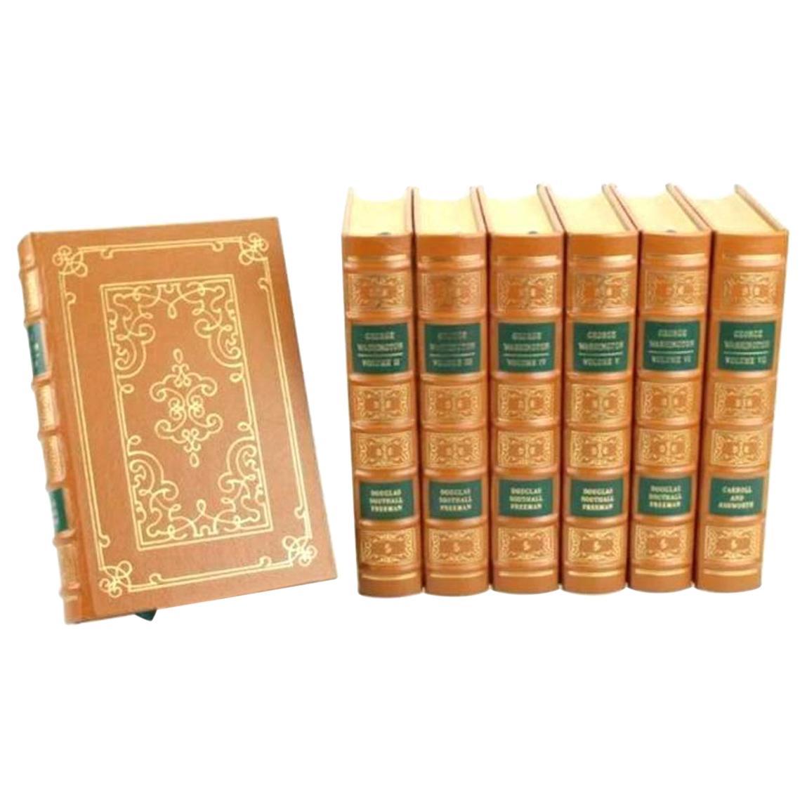 George Washington A Biography by Douglas Southall Freeman, Collector's Edition