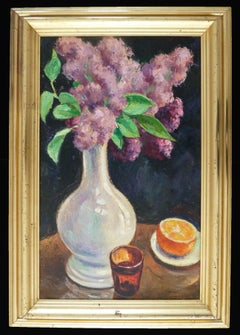Bouquet of Lilacs and Orange / Bouquet de lilas à l'orange