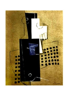 after Georges Braque - Cubism - Pochoir