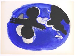 Birds - Original Lithograph by Georges Braque - 1955
