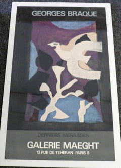 DERNIERES MESSAGES - GALERIE MAEGHT POSTER