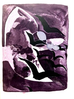 Georges Braque - Birds Freedom - Original Lithograph