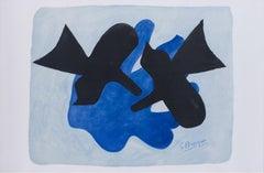 Georges Braque Pelias and Neleus 1989 Lithography Mythological Scene