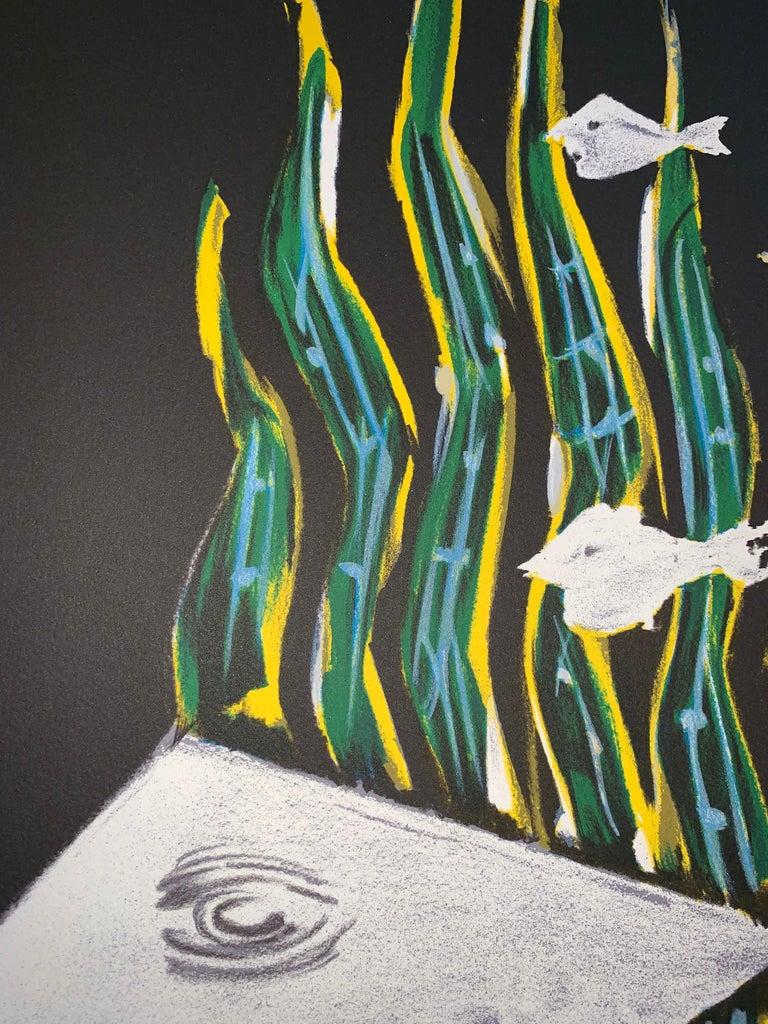 Hébé - after Georges Braque - Lithograph - 1988 - Figurative Print For Sale 2