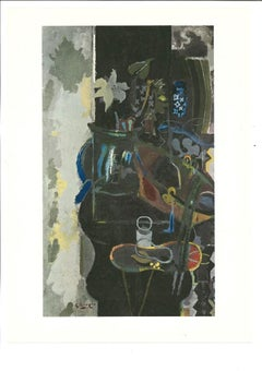 Paris: The Chauldron - Original Lithograph by Georges Braque - 1965