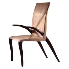 Georges Chair in Cream Shagreen by R&Y Augousti