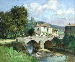 Paysage de L'Indre près de Confolens