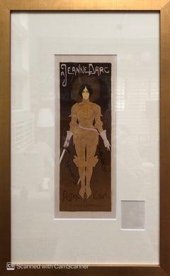 Jeanne D'Arc (Joan of Arc) Maitres de l'Affiche lithograph