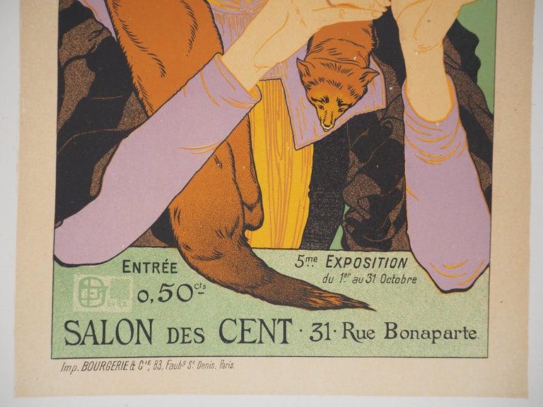 Salon des Cent - Lithograph (Les Maîtres de l'Affiche), 1895 1