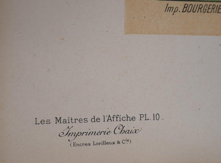 Salon des Cent - Lithograph (Les Maîtres de l'Affiche), 1895 2
