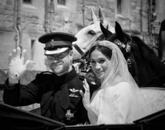 'The Duke & Duchess Of Sussex'  Limited Edition Silver Gelatin print