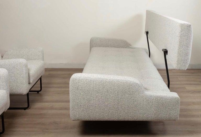 Georges Frydman Living Room Set, EFA France, 1960 For Sale 7